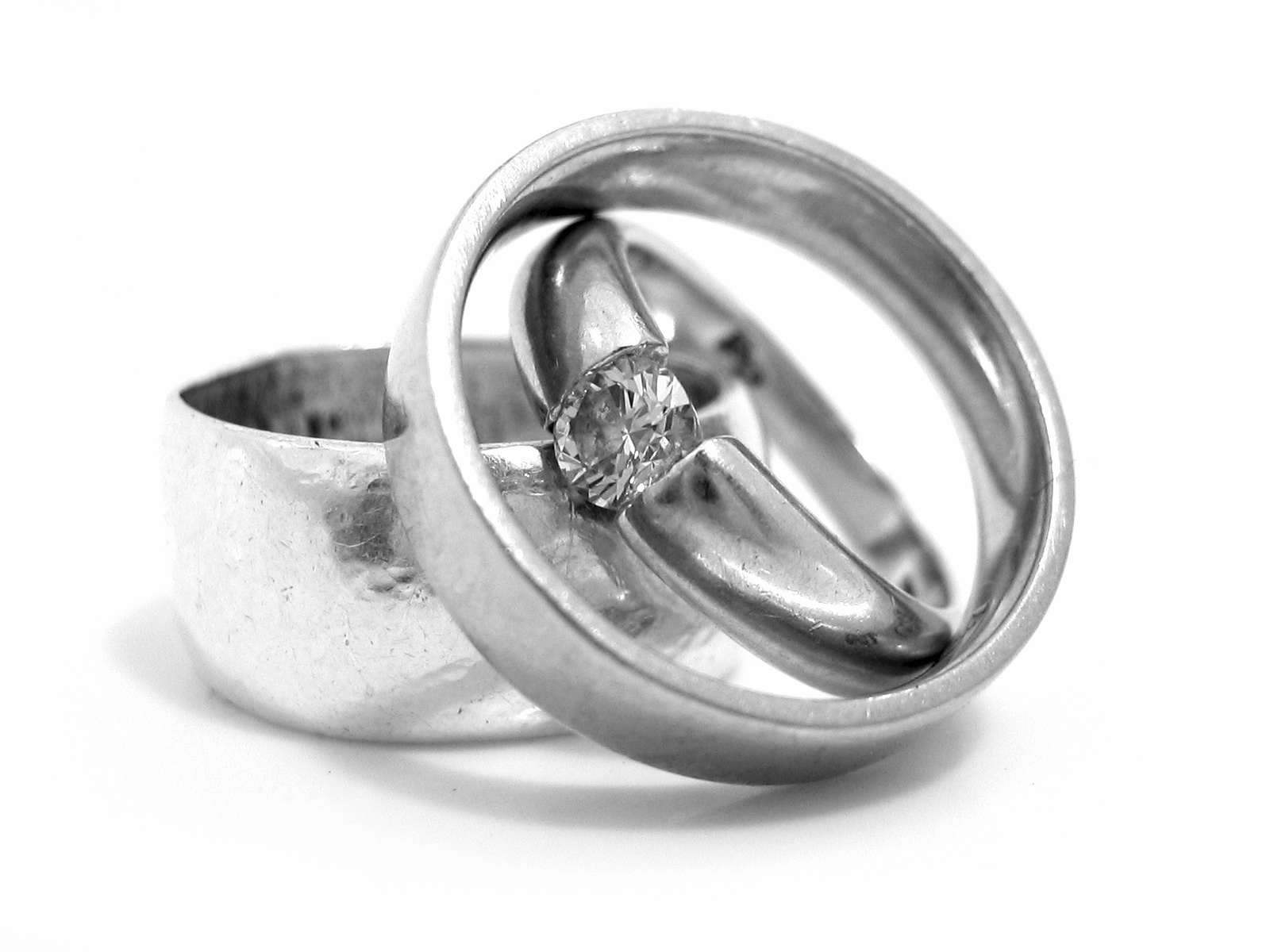 for bands of fresh simple pics ring rings band her three wedding